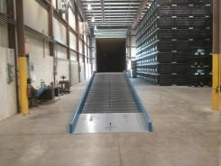 LL and E Warehouse loading