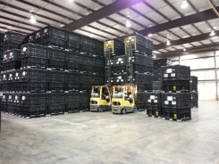 LL and E Warehouse seed storage